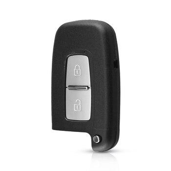 chiave telecomando per Hyundai Genesis Coupe Sonata Equus Veloster 2 Tasti Remote Key Smart Card Shell 1