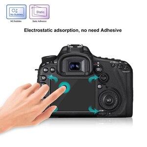 Image 4 - PULUZ מסך מגן עבור Canon 5D סימן III IV EOS 6D 7D Mark II 100D/M3 EOS 200D 650D 1200D SX600 G7X מזג זכוכית LCD סרט