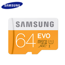 SAMSUNG MicroSD 64GB EVO Memory Card Micro SD Cards SDXC 64gb C10 TFTrans Flash Mikro Card For Samsung galaxy s3 s4 Mobile Phone