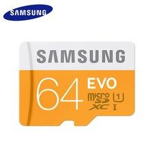 SAMSUNG MicroSD 64GB EVO Memory Card Micro SD Cards SDXC 64GB Waterproof C10 TF Trans Flash Mikro Card For Samsung galaxy s3 s4