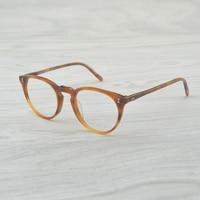 Round style optical glasses OV5183 Myopia reading Glass Frame Men/Women O'MALLEY Retro Eyeglasses frame oculos de grau feminino