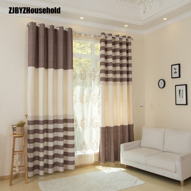 the nordic modern minimalist style pure cotton fabric curtains for rh aliexpress com