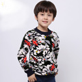 Free shipping 2015 New Arrival  Autumn/Winter boys Sweater boys knitted sweater for 5 to 9 ages sixe colorscan choose AD3002
