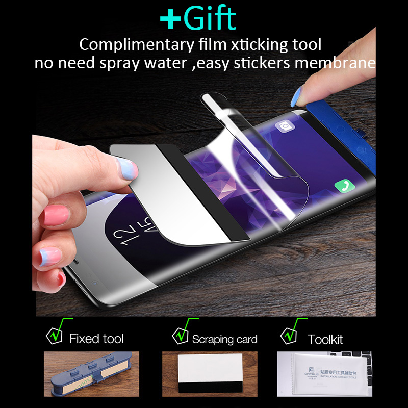 htc a810e刷机_Soft Hydrogel Film Screen Protector For Samsung Galaxy S10 S9 S8 A8 Plus Lite Full For ...