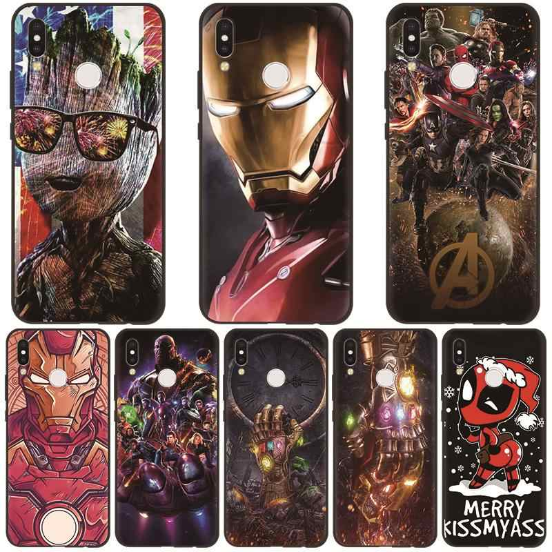 Marvel Avengers Heroes Phone Case For Huawei Mate 20 10 P30 P20 Pro P8 P9 P10 Lite 2017 Case For Huawei P Smart 2019 TPU Soft