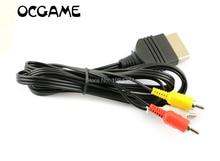 OCGAME 30 adet/grup 6 ft AV ses Video kompozit kablo kablosu RCA kablosu için XBOX
