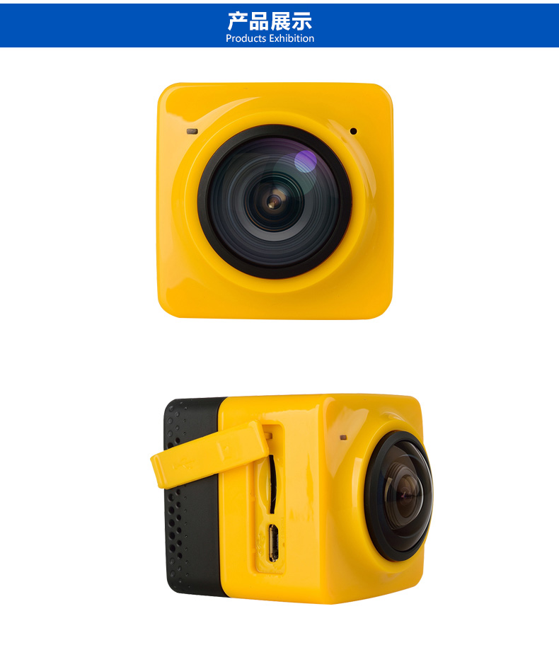 Winait New WiFi 1280 1042 28fps Mini 360x220 Degree with HD 360 D Panoramic VR Cameras