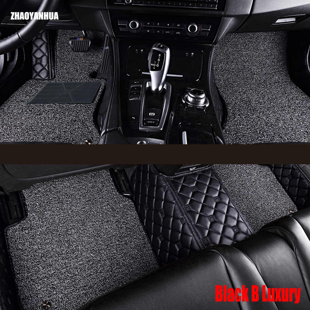 """ZHAOYANHUA car floor mats for Mercedes Benz S class W220 280 320 350 430 500 600 L S55 S65 AMG car-styling rugs carpet liners """