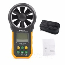 Digital Air Speed Anemometer / Volume Flow Test Meter High Quality