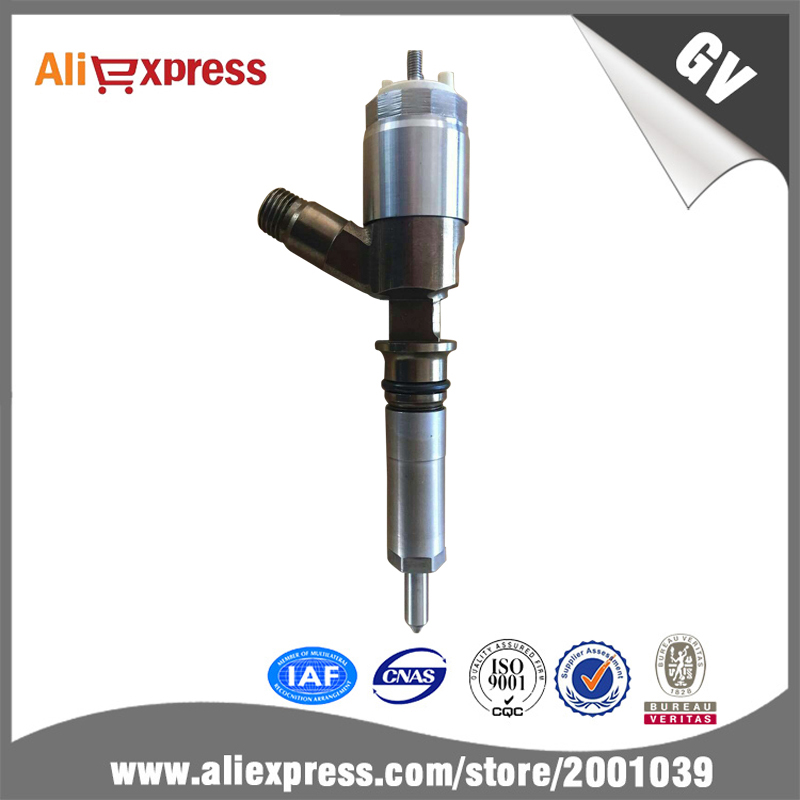 High quality CAT 320D injector 326-4700, common rail injector 32F61-00062 2182 rebuilt Suit for Caterpillar C6.4 engine