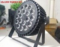 Новый алюминиевого литья 18x18 Вт RGBWA УФ 6in1 светодиодный par стирка par светодиодный Светодиодный плоский пар может освещение для вечерние KTV дис