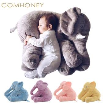 Baby Pillow Elephant Feeding Cushion Children Room Bedding Decoration 53cm Bebe Bed Crib Car Seat Kids Plush Toys Christmas Gift