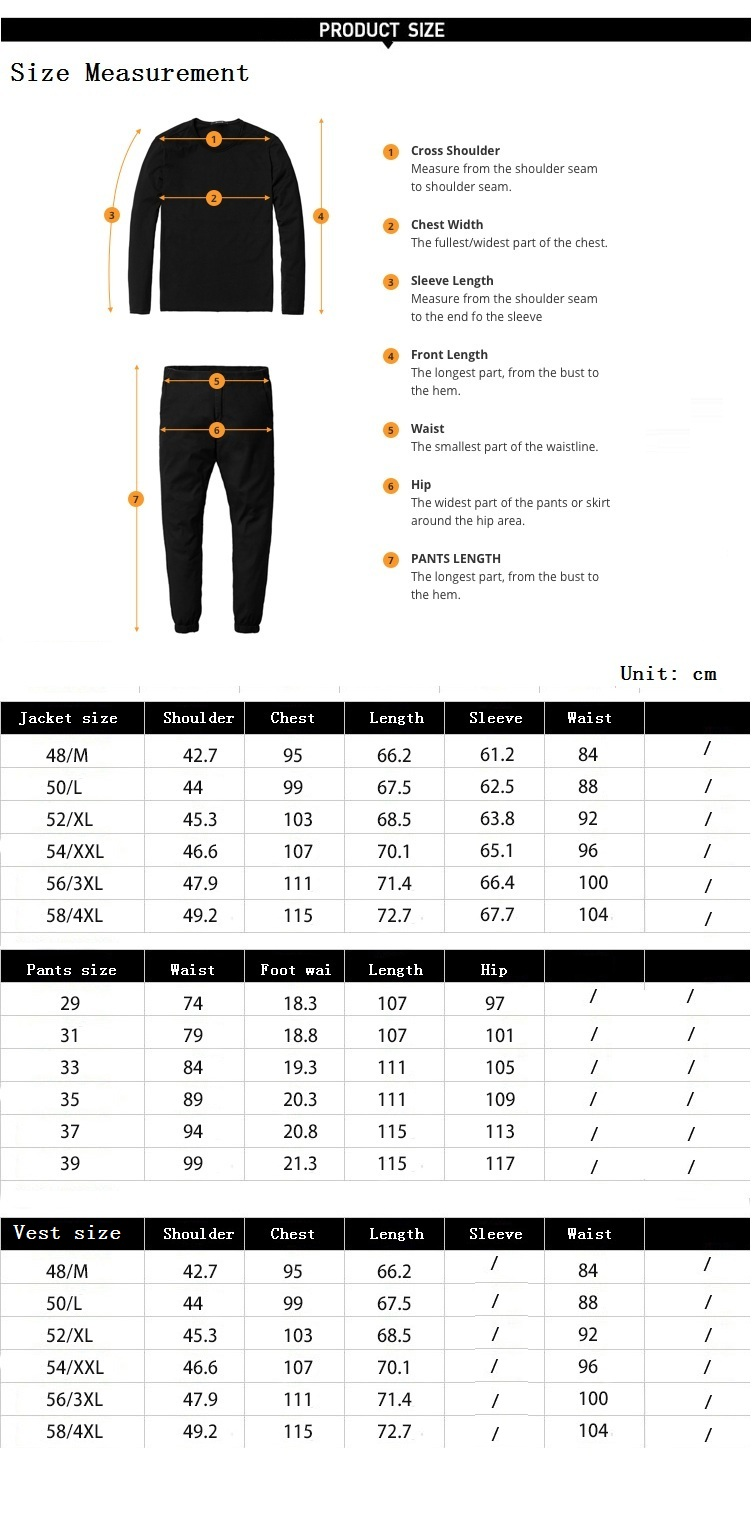 TIAN QIONG Black Double Breasted Suit Men Custom Made Plaid Slim Fit Wedding Groom Dress Suits for Men Costume Homme 3 Pcs Terno