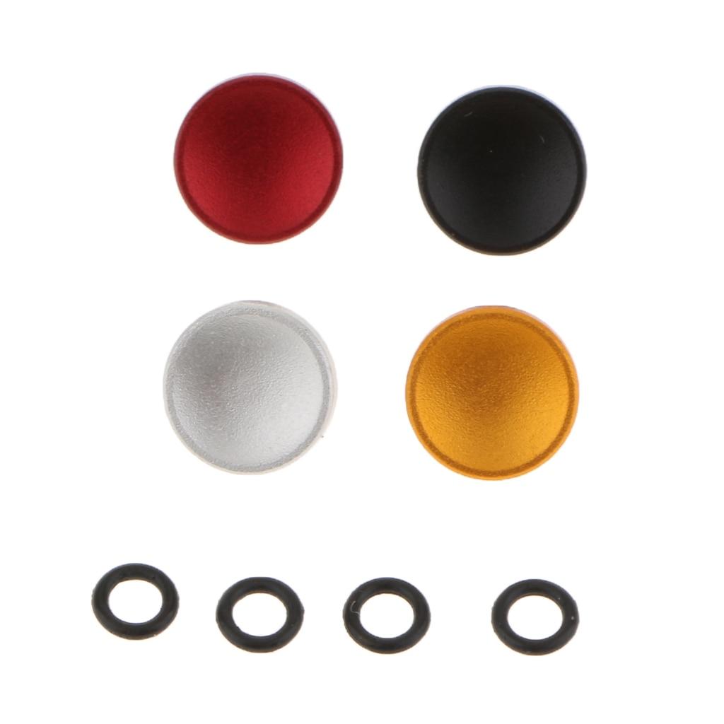 4 шт. Универсальная металлическая вогнутая поверхность камера вогнутая мягкая кнопка спуска затвора подходит для Fujifilm стандартные нитки 4 ц...