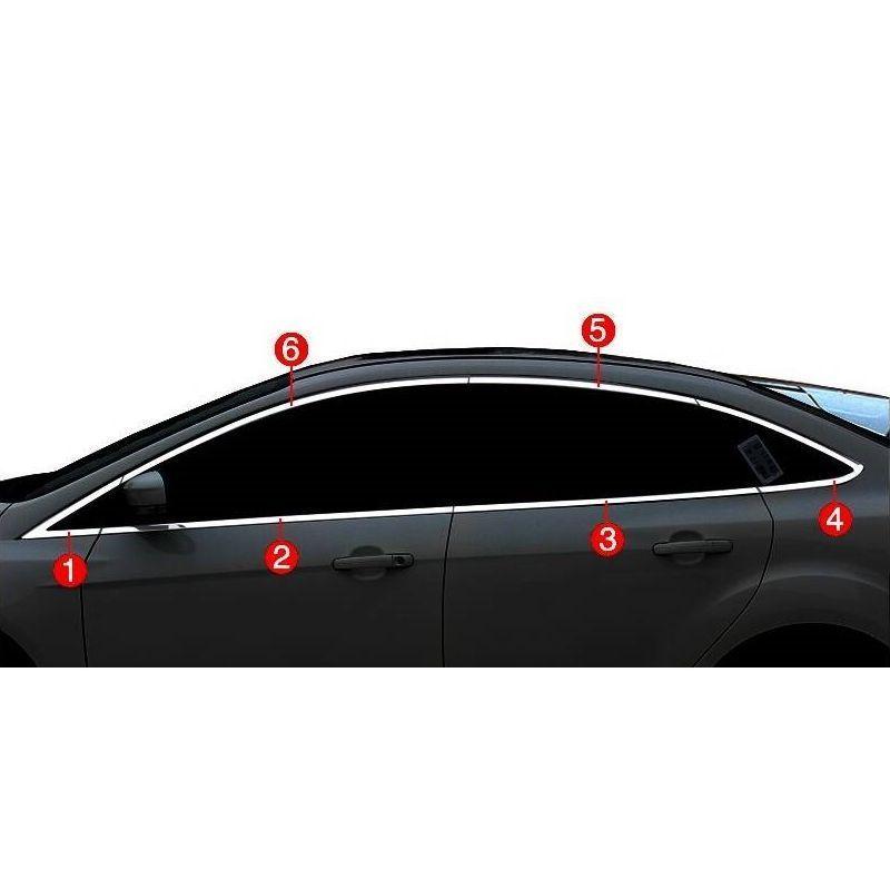 Window Rear Bumper Trunk Automobile Auto Decorative Car Styling Covers Accessory 12 13 14 15 16