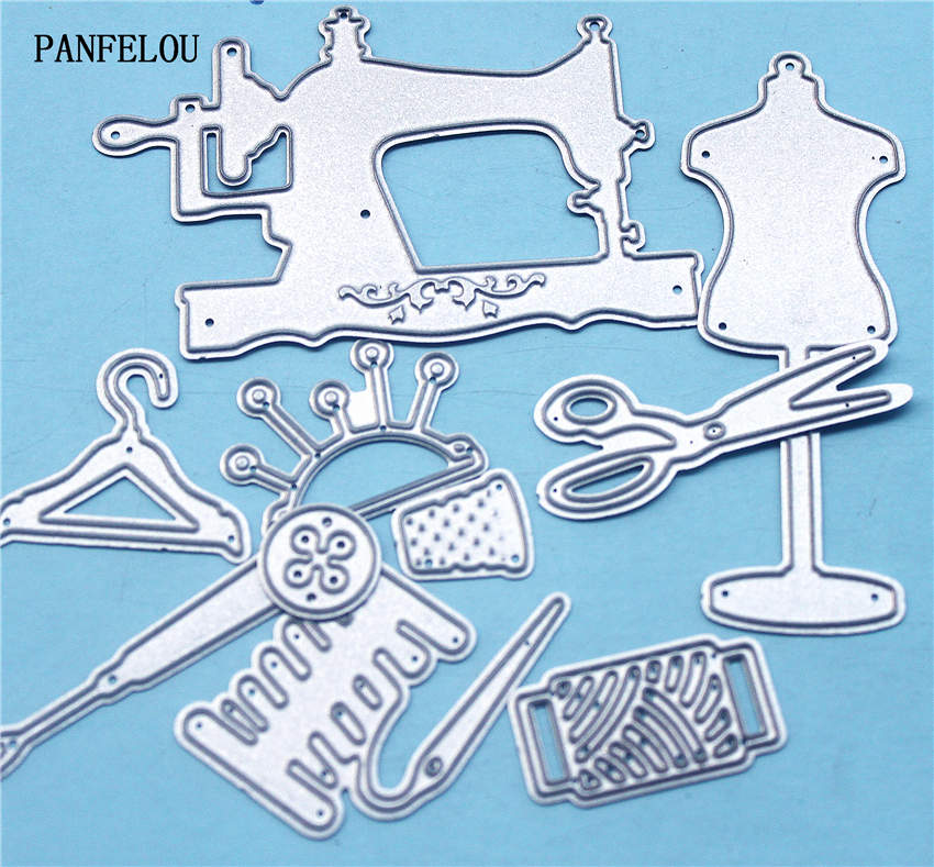 PANFELOU Metal craft Sewing kit paper die cutting dies for Scrapbooking/DIY Christmas wedding Halloween Greeting cards