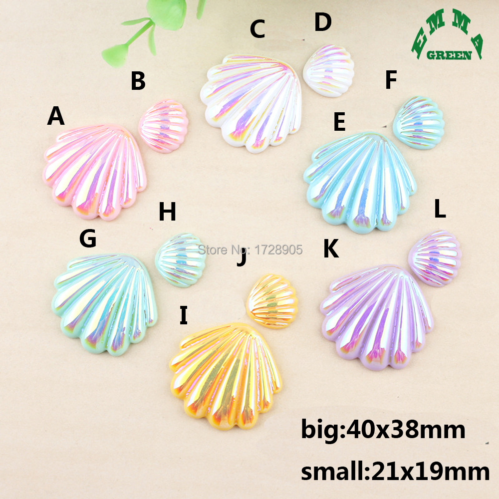 Dolphin Resin Craft Embellishments in Assorted Colours x 8