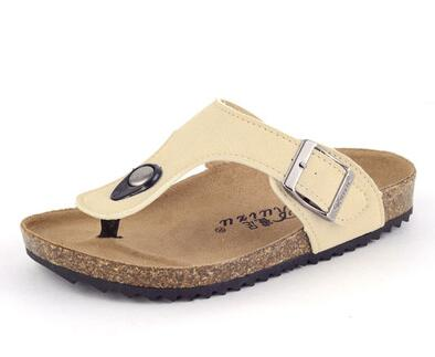 0d7d2f6043e7ac 2017 summer new influx of boys and girls shoes sandals Korean version  paternity cork shoe burst models boys Slippers girls-in Sandals from Mother    Kids on ...