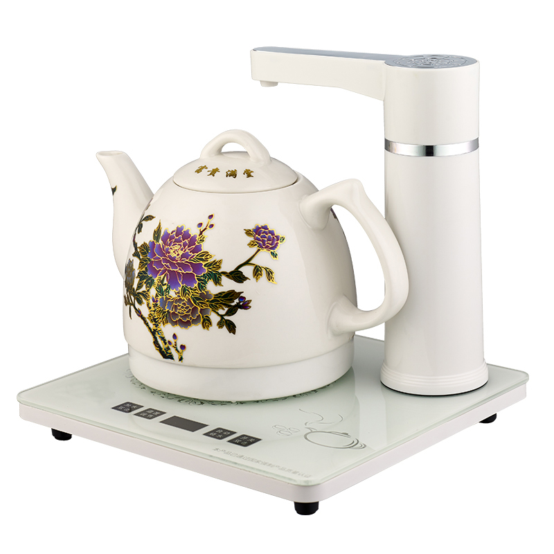 Electric kettle Automatic upper water electric jingdezhen ceramic raised pot 304 stainless steel tea maker zonerich thermal printer head b 58gk 58mk ecr800 1200 1000af 2000af pos machine compatible ftp 628mcl101 sii z245m printhead