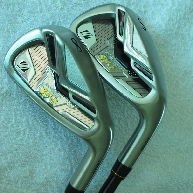 SF-1 Cooyute Nuevos mens Golf Clubs de Golf Hierros set 5-9.P.A.S Grafito eje de