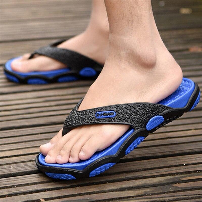 2019 Männer Clip Auf Hausschuhe Outdoor-mode Sommer Hausschuhe Atmungs Strand Bad Hausschuhe Slides Flip-flops Männlichen Schuhe #40 Produkte Werden Ohne EinschräNkungen Verkauft