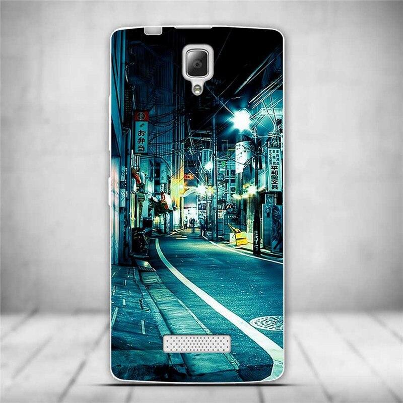 Luksusowe tylna pokrywa miękki tpu case dla lenovo a2010 a 2010 szczupła cienkie silikonowe etui na telefony dla lenovo a2010-a/a 2010 powrót skóry 13