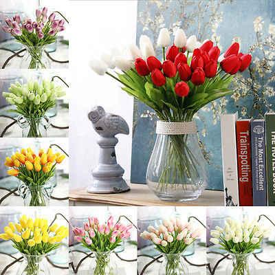 1 bouquet Mini tulipe artificielle Rose plastique faux fleur feuille décor maison nuptiale Bouquet heureux cadeaux mariage décoration bonsaï