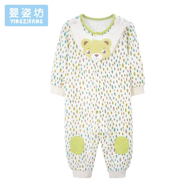 Newborn Clothes Infantil Newborn Baby Ropmer Lovely Printing Boy Girl Clothes Long Sleeve Infant Jumpsuit Soft Rompers Toddler 3pcs set newborn infant baby boy girl clothes 2017 summer short sleeve leopard floral romper bodysuit headband shoes outfits