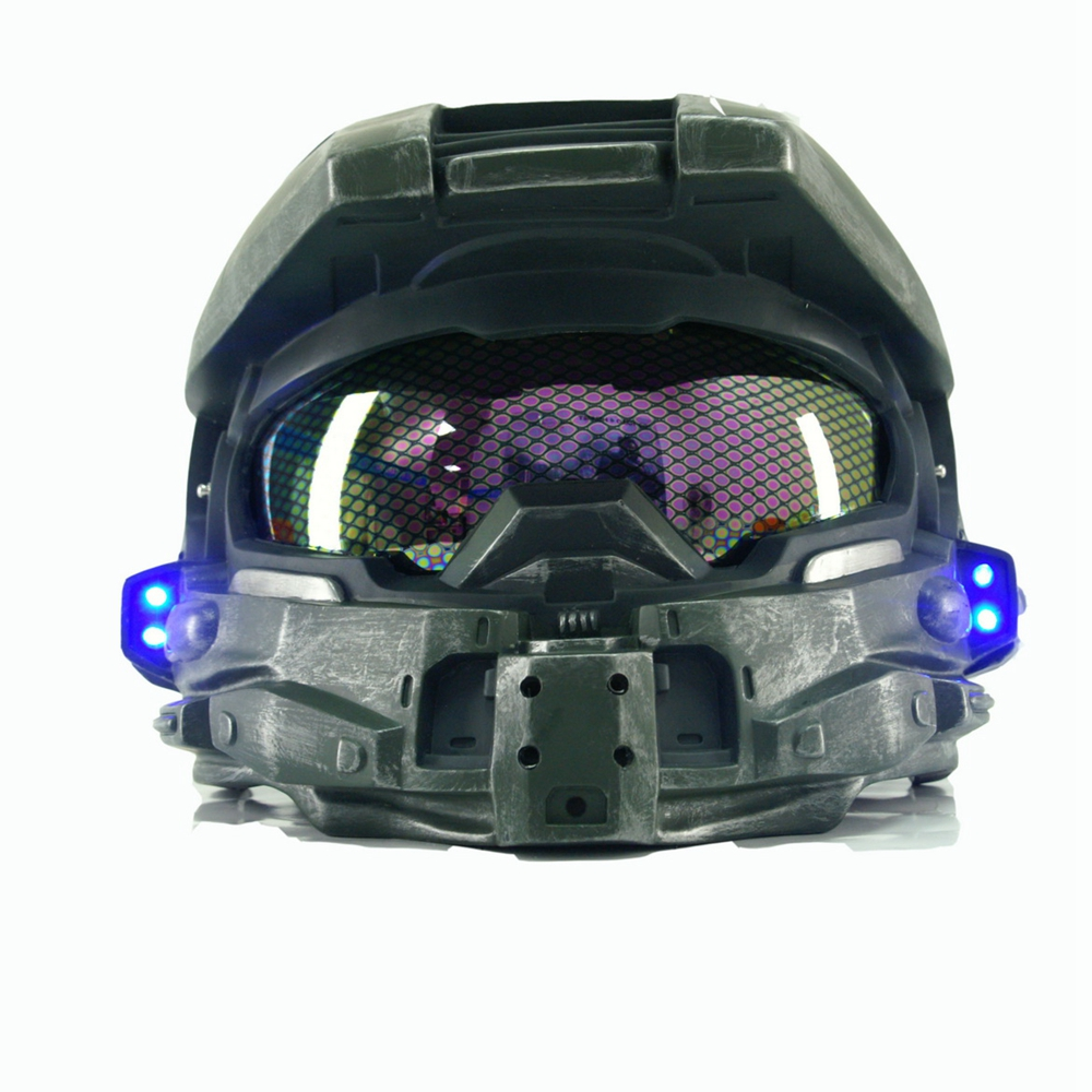 Halo 4 Helmet COSplay Costume Prop Replica Full Head PVC Mask Game Equipment Master Chief Accessories