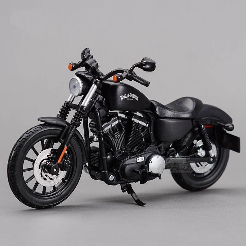 Freeshipping Maisto 2014 Sportster Iron 883 1:12 <font><b>Motorcycles</b></font> Diecast Metal Sport Bike <font><b>Model</b></font> Toy New in Box For Collect image