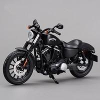 Freeshipping Maisto 2014 Sportster Iron 883 1 12 Motorcycles Diecast Metal Sport Bike Model Toy New