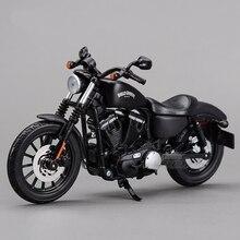 Бесплатная доставка Maisto 2014 Sportster Iron 883 1:12, мотоцикл, литье под давлением, металл, спортивный велосипед, модель, игрушка, новая в коробке для сбора