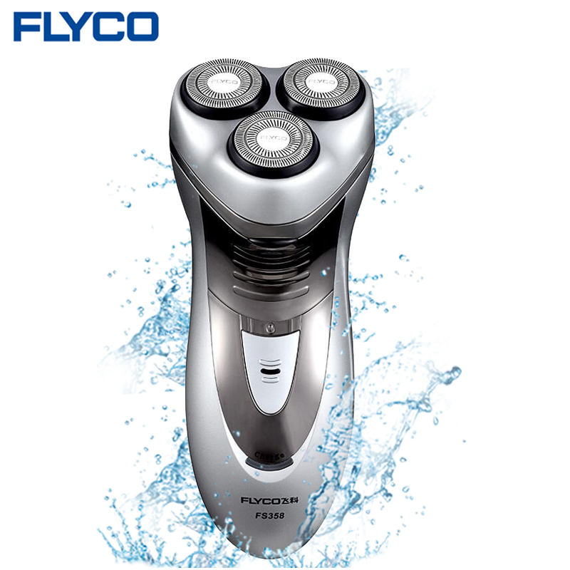 flyco professional men 39 s large power 3d intelligent floating head rechargeable electric shaver. Black Bedroom Furniture Sets. Home Design Ideas