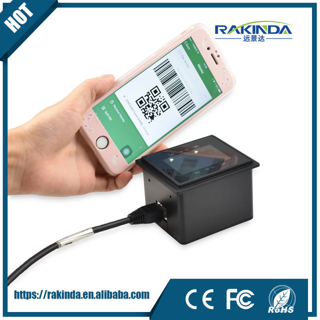 US $135 0 |RD4500 20 2D Phone Screen QR Code Scanner Module for Turnstile,  Kiosk Application with USB Cable-in Scanners from Computer & Office on