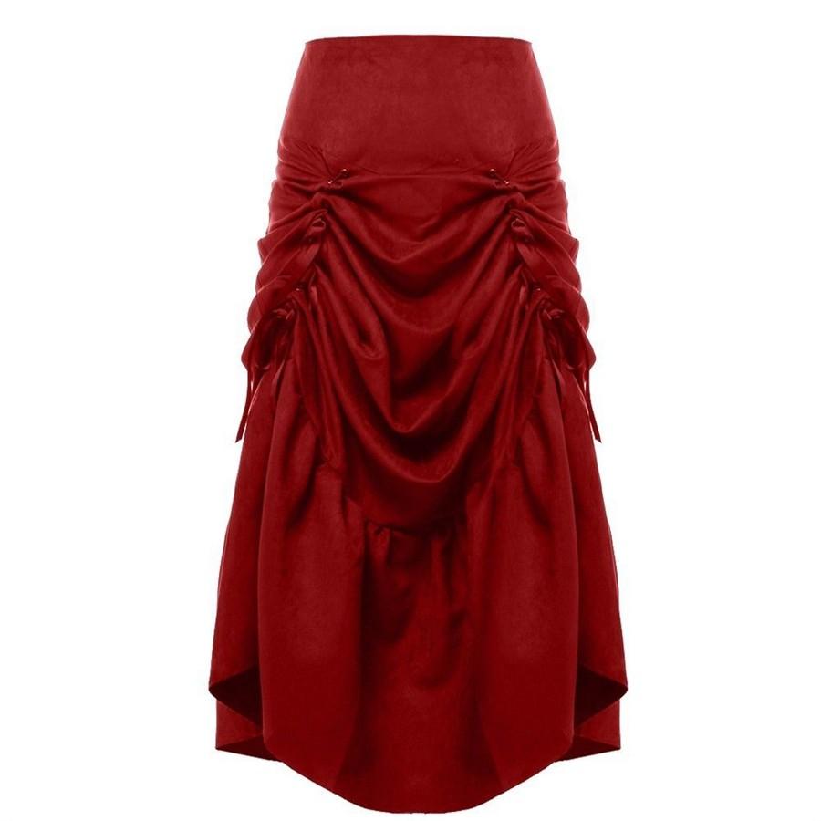 Gothic Corset Skirt  (12)