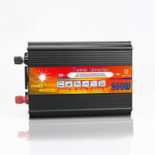 800W Solar Inverter Multifunctional Travel Power Supply Control Car power inverter Mobile phone charger LCD Display Customizable