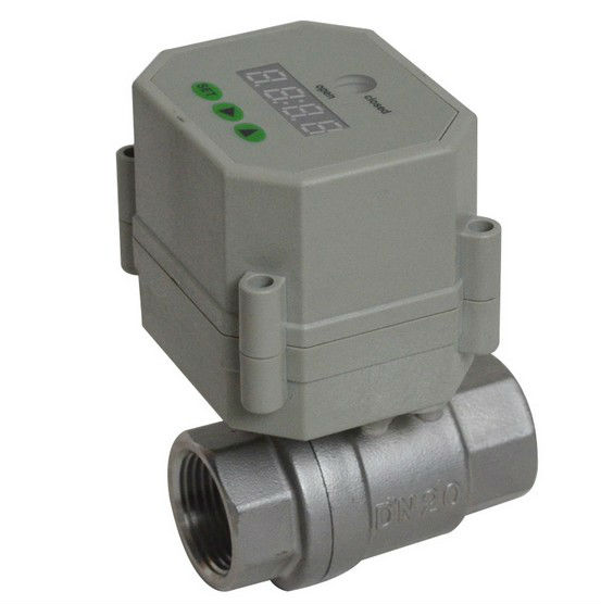 Time Electric Valve AC/DC9-24V 3/4'' BSP/NPT for garden irrigation Drain water air pump water automatic control systems 3 4 brass time control electric valve ac110v 230v bsp npt can be selected for garden water irrigation drain water air pump