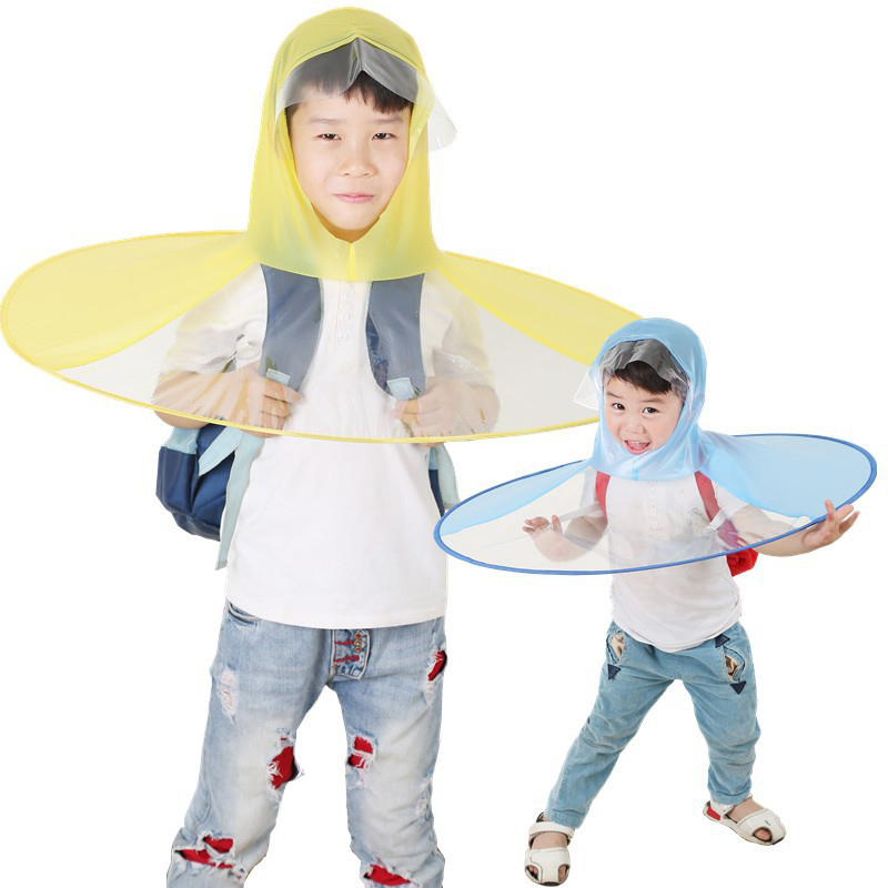 Safebet Creative Large Children S Raincoat Puffball Umbrella Folding Umbrella Fishing Poncho Adult Outdoor Game Clothing In Raincoats From Home Garden On Aliexpress Com Alibaba Group