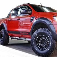 car wrap left and right wiltrack marking side body door stripe waistline car styling stickers for Ford Ranger car accessories