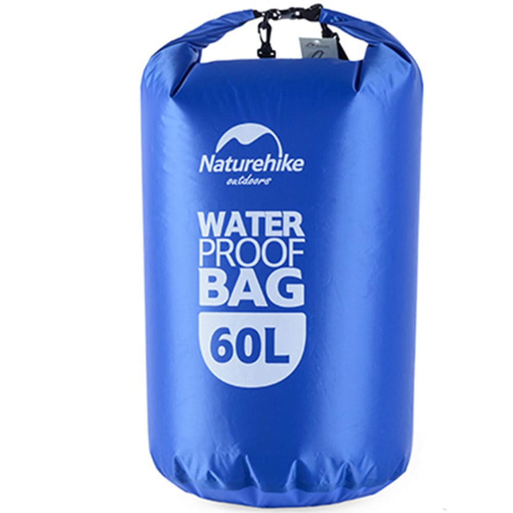 Naturehike 60L Outdoor Multifunction Waterproof Drawstring Storage Stuff Sack Dry Bag Travel Top Quality косметичка outdoor research lightweight dry sack 15