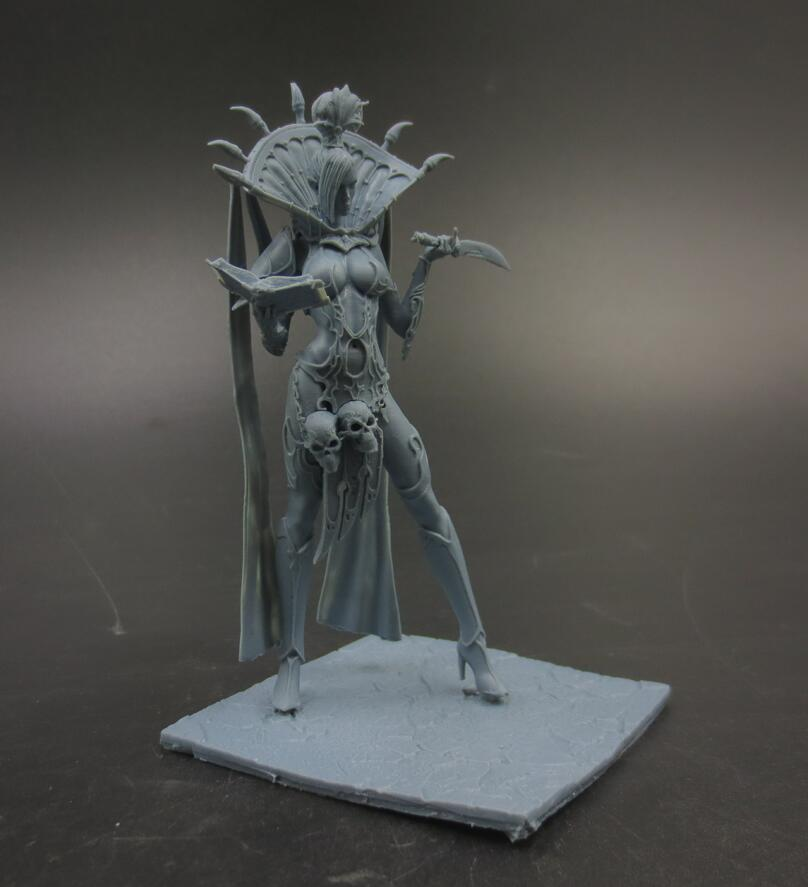 New Resin Figures About 10cm Sexy Witch Model Kits