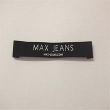 Cheap Customized Garment Woven Label High Density