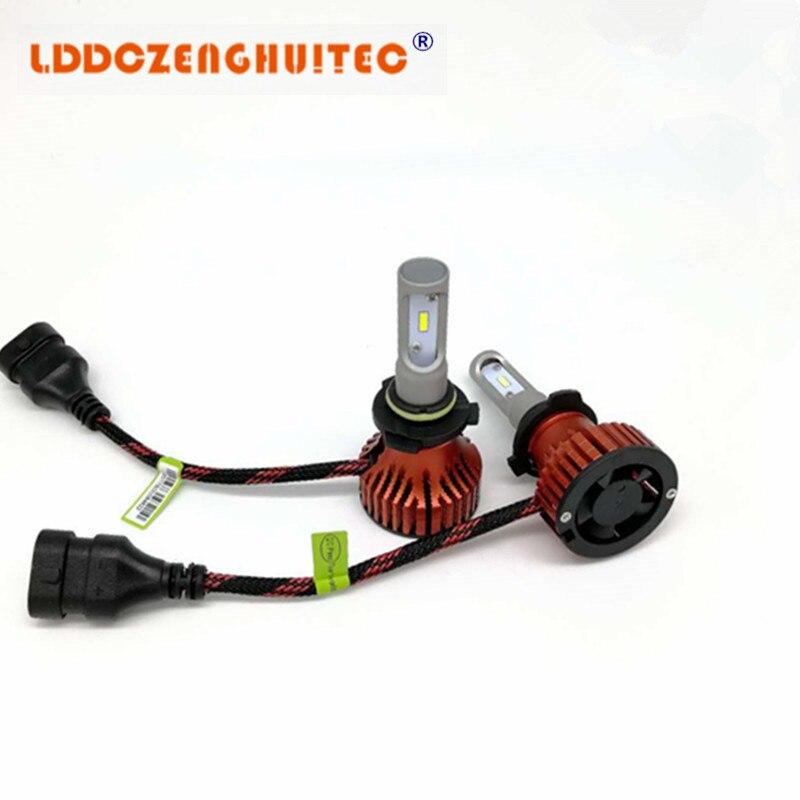 Lddczenghuitec H7 H4 Led Bulb Car Headlight H11 H1 H13 H3 H27 9005/hb3 9006/hb4 9007 Hi-lo Beam 60w 8000lm Auto Headlamp Leds In Short Supply Car Lights