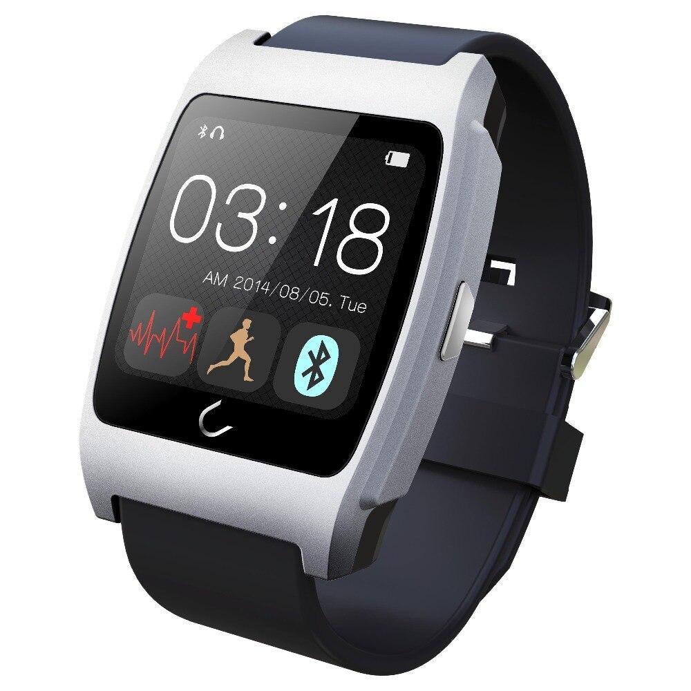30bdcd0a0fef Monitor de ritmo cardíaco reloj inteligente UX Bluetooth Digital reloj  smartwatch reloj de pulsera con salud sleep Monitor manos libres de  llamadas etc en ...