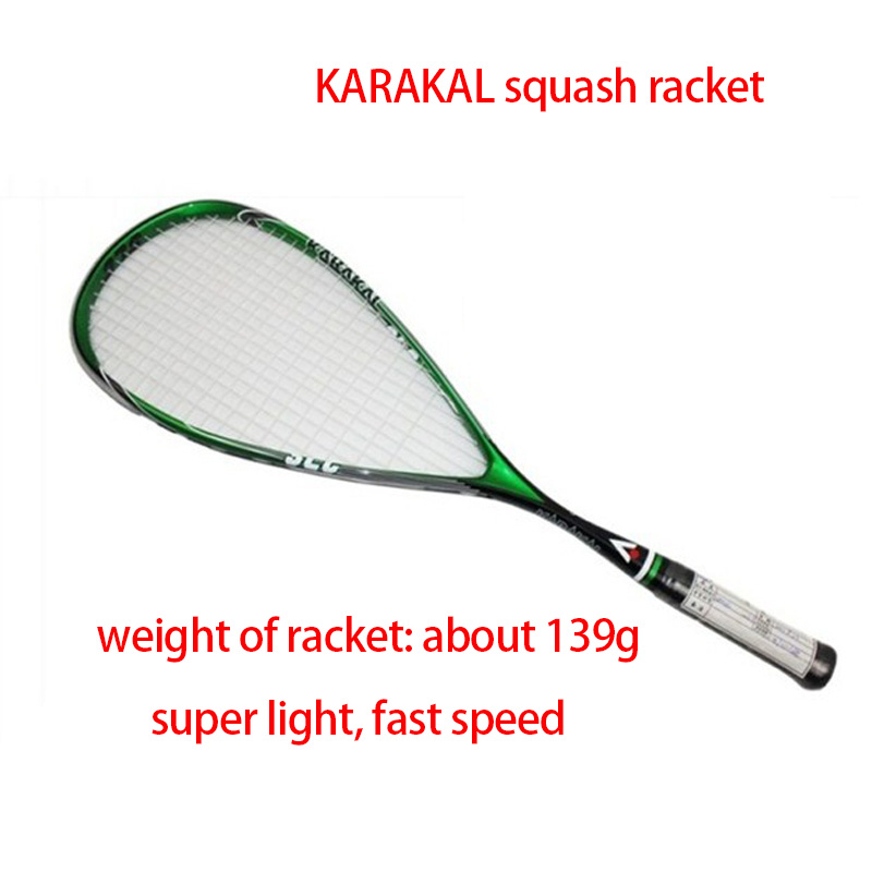 2017 New squash racquet KARAKAL squash rackets high quality squash female male raquetas squash racket ball Sports Toys