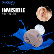 Mini Hearing Aid Sound Enhancement Digital Best Invisible Deaf Volume Sound Amplifier Ear Aid Adjustable Tone Hearing Aid hear aid digital mini in ear ear domes hearing aid amplifiers sound deaf hearing instrument with cleaning wax kit s 100a