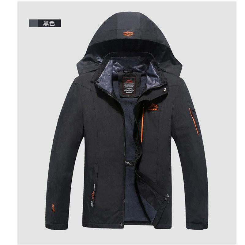 New Original Brand Thick Winter Jacket Men Windproof Hood Parka Mens Jackets and Coats Outdoors Windbreak Coat Plus Size free shipping winter parkas men jacket new 2017 thick warm loose brand original male plus size m 5xl coats 80hfx