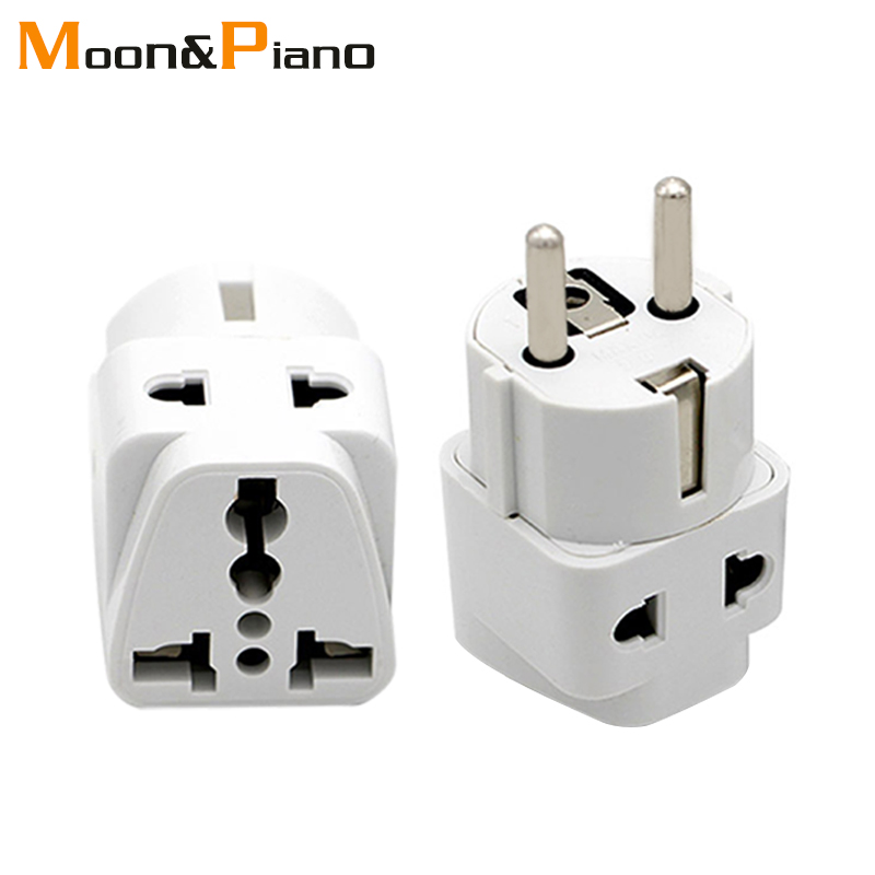 Multifunction EU German Conversion Plug To Universal French Russian Bali The Maldives Thailand Transform Plugs Travel Adapter
