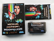 MD Game : Michael Jacksons MoonWalker ( Japan Version!! box+manual+cartridge!! )