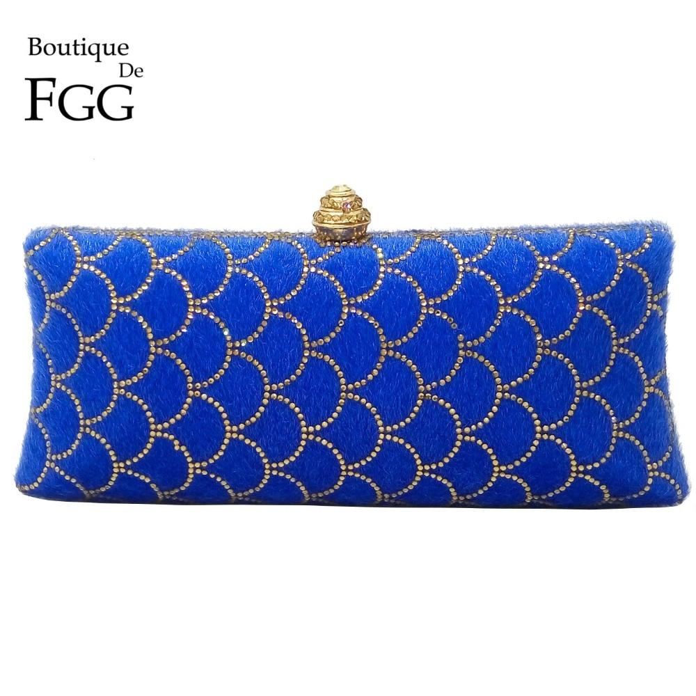 Online Get Cheap Royal Blue Clutch Purse -Aliexpress.com | Alibaba ...